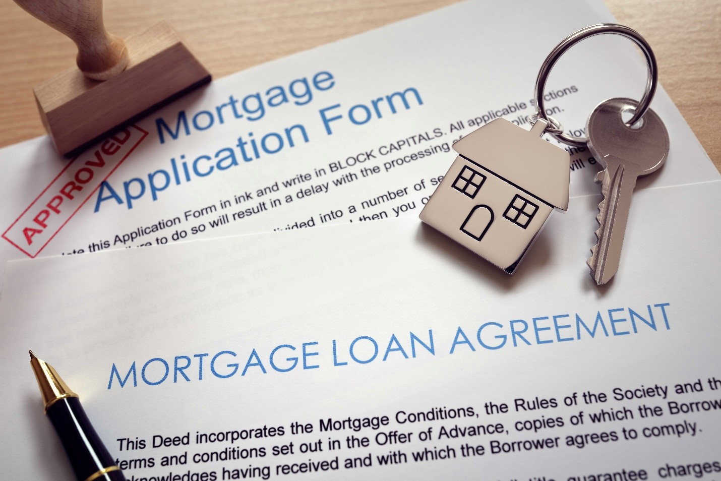 mortgage loan application and agreement form